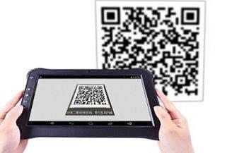 2D Barcode Scanner eingebaut Motorola für Durios Q8 und Q10