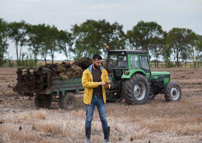 Agrar-Einsatz-Outdoor-Tablet