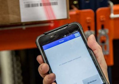 Barcode-Scanner - Logistik