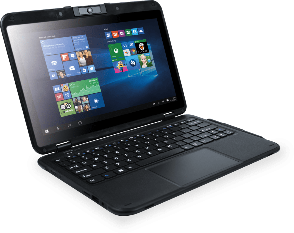Pokini Tab E11 Convertible Notebook