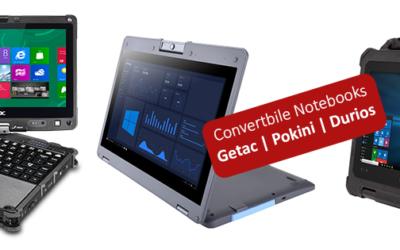 Convertible Notebook | 2-in-1 Lösungen