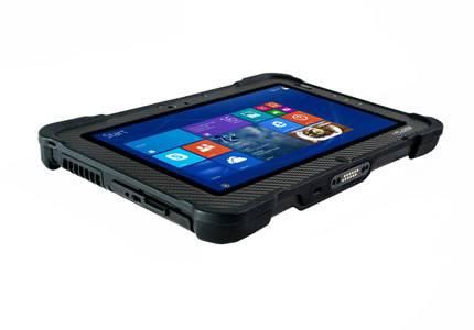 Ruggedized-Tablet-PC-Xplore-B10-seitlich