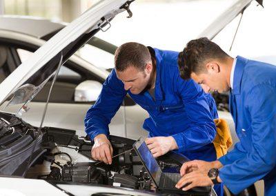 Fahrzeugbau - Industrie Notebook