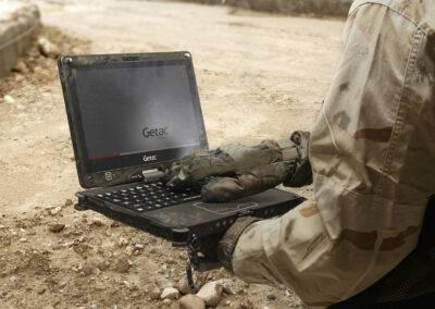 Militär-Einsatz - Full Rugged Tablets von Acturion