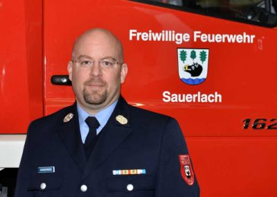 Kommandant Feuerwehr Sauerlach