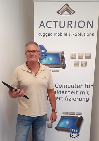 Oliver Husmann, Geschäftsführer der - Acturion GmbH