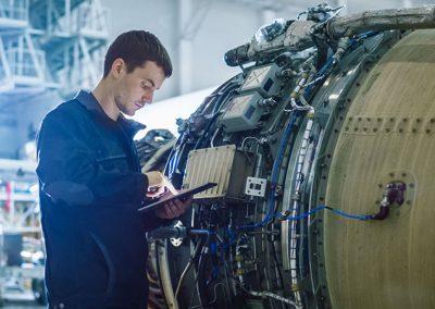 Luft-Raumfahrt-Industrie-Tablet