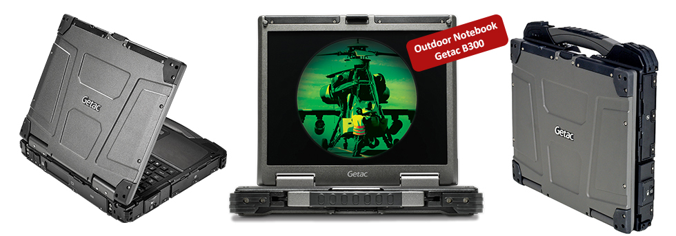 Outdoor-Notebook-Getac-B300