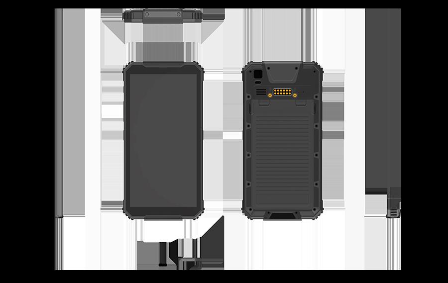 rugged-Mini-Industrie-Tablet-Durios-F60A-alle-Ansichten