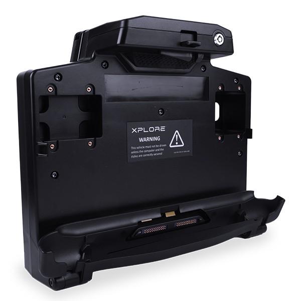 Secure-Mobile-Dock-Halterung-Akkuladeschacht-R12-Zebra