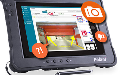 Rugged Industrie Tablets – KEVOX Dokumentations-Software