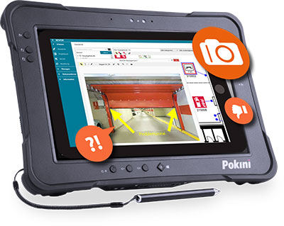 Tablet-Pokini-TAB-K10-KEVOX-Software