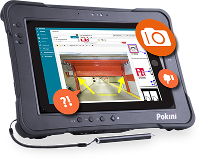 Rugged Industrie Tablets – KEVOX Dokumentations-Software